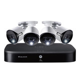 4K Ultra HD 8-Ch 2TB DVR 4K Ultra HD 4 Security Cameras