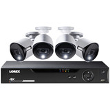 8-Channel 4K Ultra HD Security System kit 4 cams