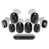 4K Surveillance Kit with 8-Ch 2TB DVR & (8) 4K Cameras