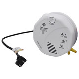 Dual WiFi Wired Smoke Detector Camera with Night Vision