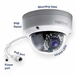 1.3MP HD PoE Outdoor Dome Camera