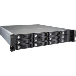 12-Bay Rack Expansion Enclosure Auto On/Off with NAS Power Status w/o Rail Kit