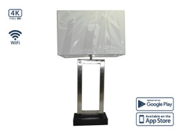4K Table Lamp WiFi Hidden Camera