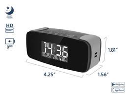 WiFi Mini Alarm Clock Camera with Night Vision