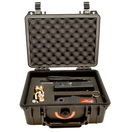 Portable case for the RF Detection and Lens Finder Kit.