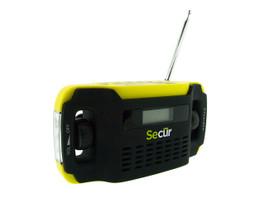 Secur SP-2000 Digital Solar Radio and LED Flashlight