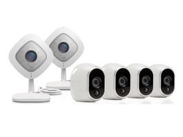 Arlo HD Security System with 4 Wire-Free Cameras & 2 Q Cameras