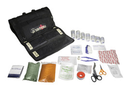 12 Survivors First Aid Roll Up Kit