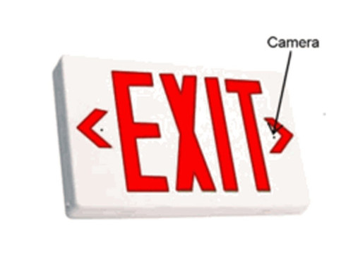 Exit Sign Hidden Camera with B-Link Onboard