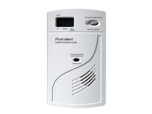 SecureGuard Carbon Monoxide Detector Cam With WiFi Connector