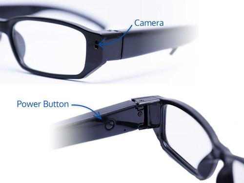 High Definition Full-Frame Glasses Body-Worn Camera