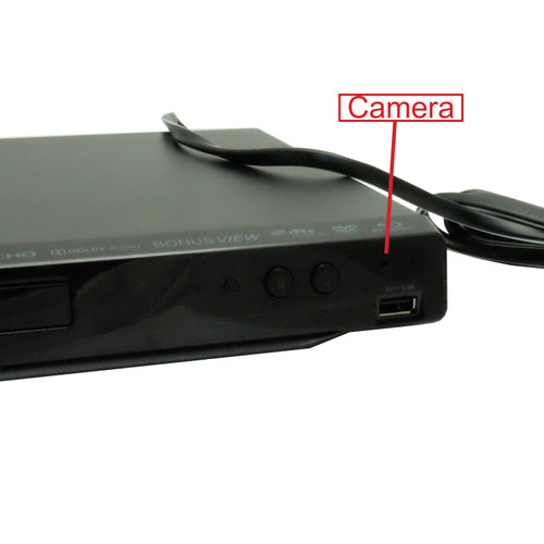 Blu-Ray Player Hidden Camera