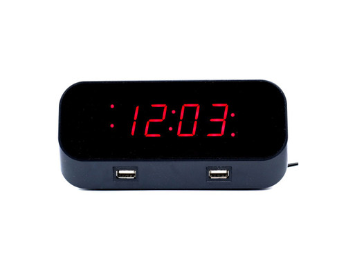 Alarm Clock WiFi HD Hidden Camera