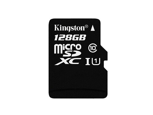 128GB MicroSD Card with Adapter