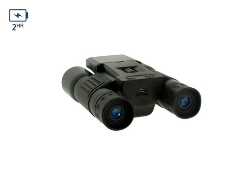 Rugged Binocular With DVR