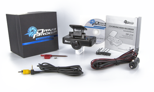 Dual Car Cam with Max Storage