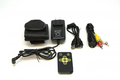 PatrolEyes HD 1080P Low Light Covert Button Camera DVR Kit