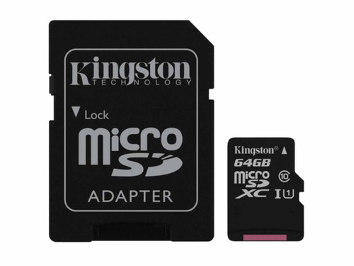 64GB Micro SD card with Adapter