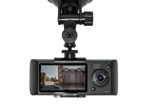 Dual View Car Camera With GPS Logger