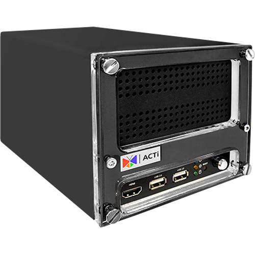 4-Channel 2-Bay Desktop Standalone NVR with 4-port PoE connectors