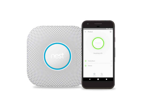 Nest Protect Plus Smoke & Carbon Monoxide Detector