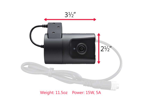 SmartWitness HD Vehicle Camera With G-Sensor Triggered DVR Recording