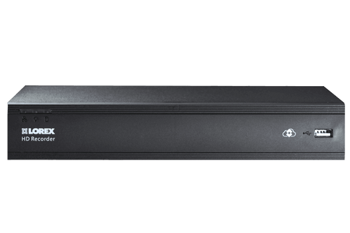 4-Channel MPX 720p HD 1TB DVR with 4 Weatherproof IR Cameras