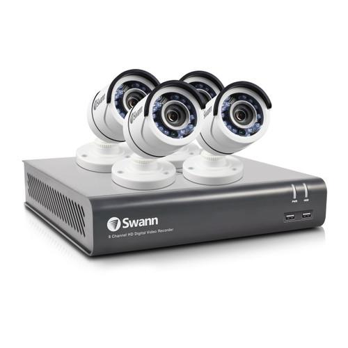 8CH 1080p DVR w/1TB HD & 4 Bullet Cameras