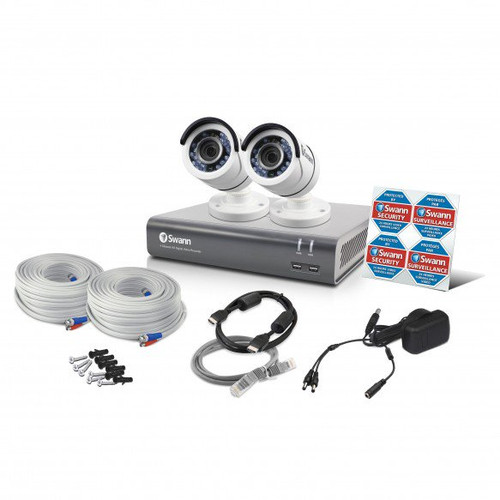 4-Channel 4575 Series 1080p DVR with 1TB HD & 2 Bullet Cameras