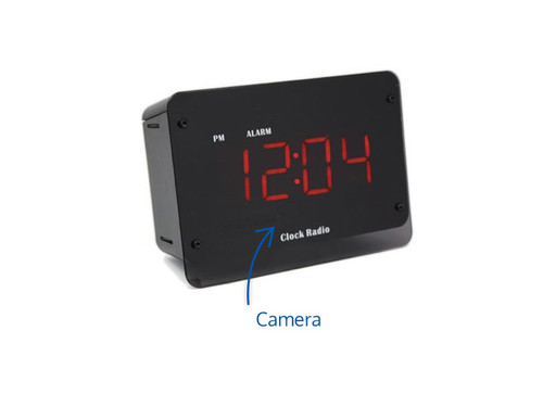 SG Home AC Night Vision Clock Radio w/Cloud Recording