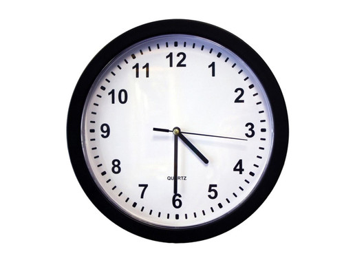 SG Home AC Wall Clock w/Cloud Recording