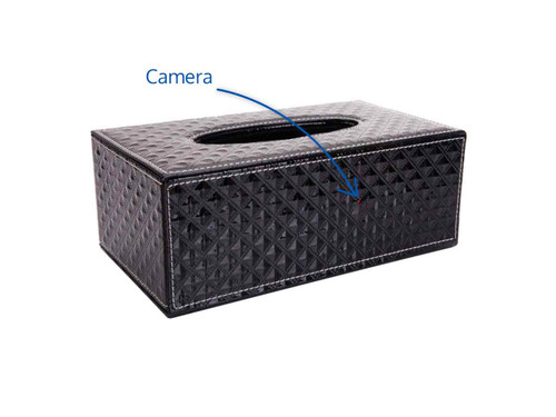 HD WiFi Tissue Box Hidden Camera