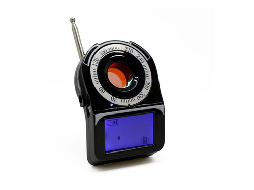 Camera Finder with RF Detector