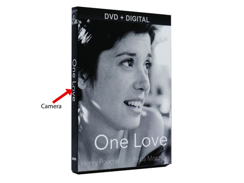 DVD Cover Hidden Camera
