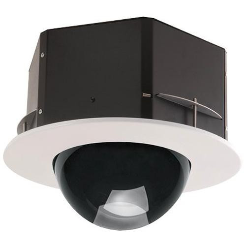 """7"""" Indoor Flush Mount Tinted Housing for PTZ or Rapid Dome Indoor Cameras"""