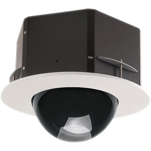 """7"""" Indoor Recessed Ceiling Tinted Housing for Fixed (Box) Cameras"""