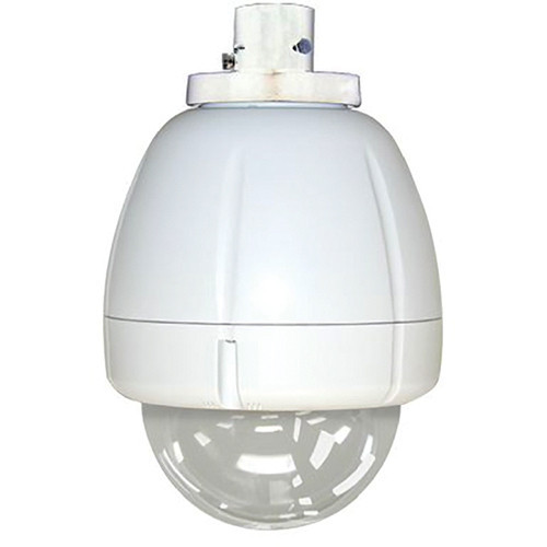 "7"" Indoor Vandal Resistant Clear Housing Pendant Mount for SNC-EP/ER/W series PTZ cameras"