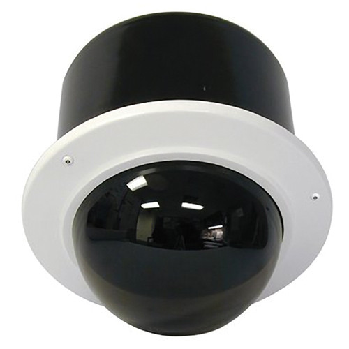 """7"""" Outdoor Vandal Resistant Flush Mount Enclosure with H/B (SNC-RZ50N & SNC-RZ30N) Tinted Dome"""