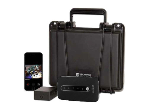 Camscura WiFi B-Link Secure Cellular Camera System