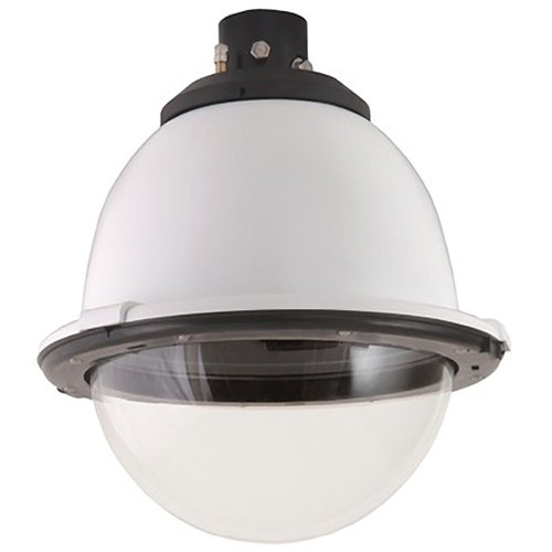 "7"" Outdoor Pressurized Pendant Housing with H/B (SNC-RX, RH, RS, EP/ER and W series PTZ cameras)Clear Dome"