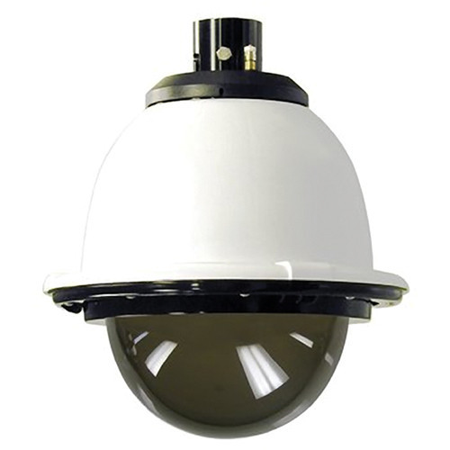 "7"" Outdoor Pressurized Pendant Housing with H/B (SNC-RX, RH, RS, EP/ER and W series PTZ cameras) Tinted Dome"