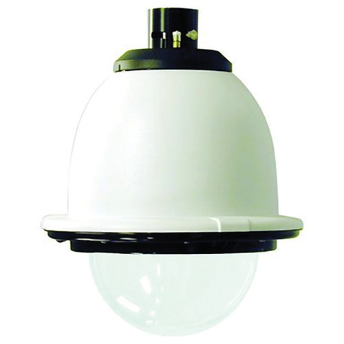 "7"" Outdoor Pressurized Pendant Housing with H/B Clear Dome"