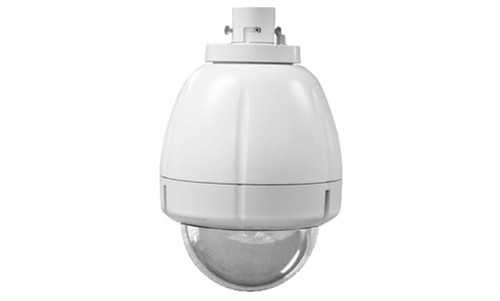 """7"""" Outdoor Vandal Resistant Housing with H/B, Pendant Mount Clear Dome(SNC-RX, RH, RS , EP/ER and W series PTZ camera)"""