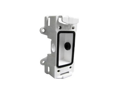 Aluminum Wall/Pole Mount Back Box (UNI-WMB1/WMB3/WMB4/WMB7 and MDB series)