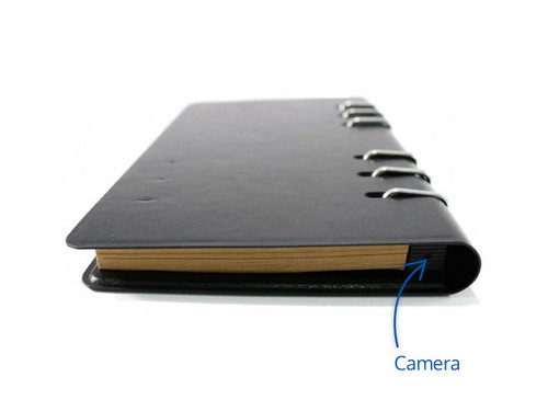 Wireless Notebook Hidden Camera and DVR