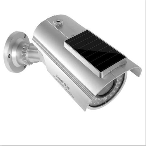 Solar-Powered Dummy Camera