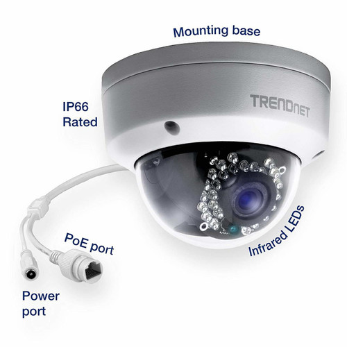 1.3MP HD PoE Outdoor Dome Camera