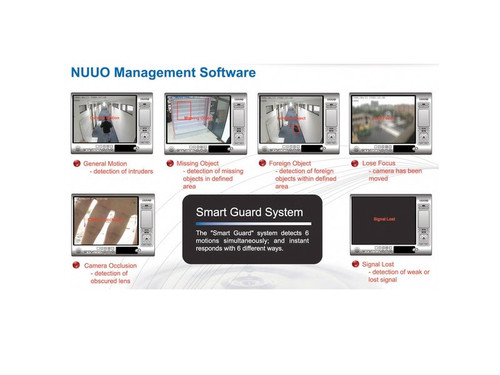 Nuuo 4 Channel NVR Software