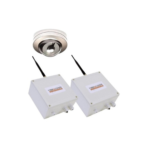 2.4GHz Digital FHSS Wireless Vandal Proof Mini Dome Elevator Video System - Up to 200 Floors