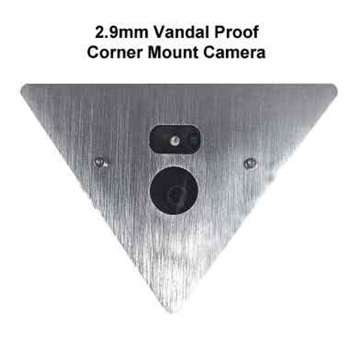 5.8GHz 802.11a/n Wireless Vandal Proof IP Corner Mount Elevator Video System - Up to 200 Floors